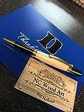 DUKE BLUE DEVILS Genuine Cameron Indoor Stadium Floor pen