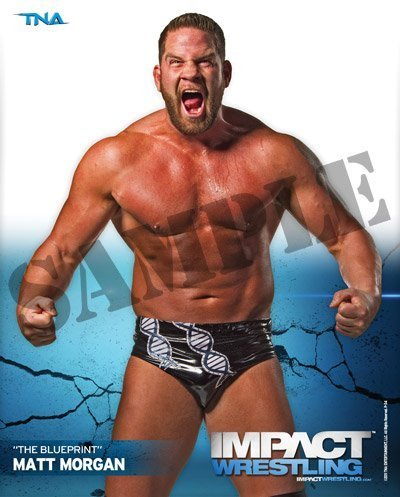 Matt Morgan - TNA Impact Wrestling 8x10 Promo Photo by TNA by TNA