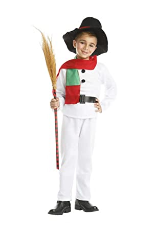 Disfraz de Muñeco de Nieve Infantil 7-9 años: Amazon.es: Juguetes ...