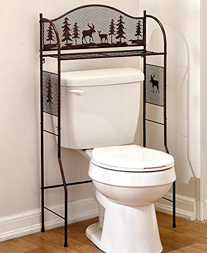 The Lakeside Collection Over the Toilet Organizer by The Lakeside Collection