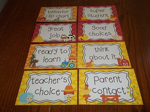 clip charts for classroom - 7