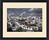 Framed Print of Spain, Andalusia, Ronda. Known for a striking bridge that crosses a ravine and