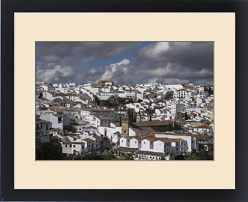 Framed Print of Spain, Andalusia, Ronda. Known for a striking bridge that crosses a ravine and by Fine Art Storehouse