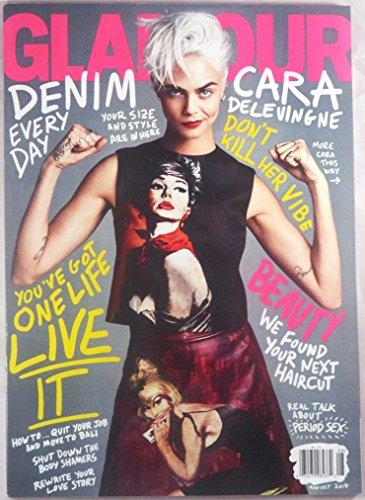 Glamour Magazine (August, 2017) Cara Delevingne - Glamour Retro