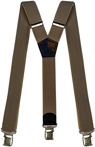 Men/'s Braces Wide Adjustable Elastic Suspenders Y Shape Strong Clips Heavy Duty