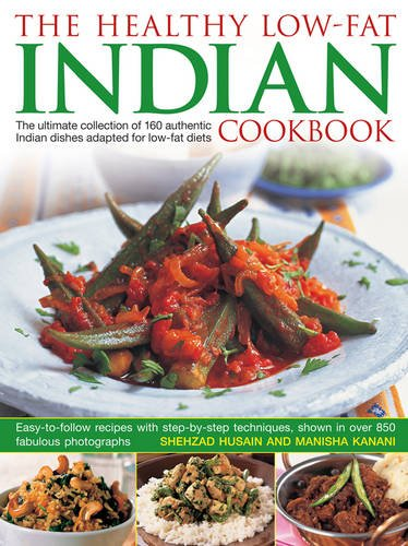 Healthy Low Fat Indian Cookbook Photographs product image