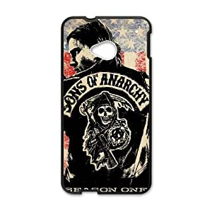 DIY Stylish Printing Sons of Anarchy Cover Custom Case For HTC One M7 V6Q652278