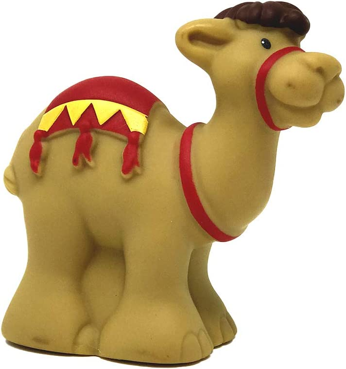 Replacement Piece for Fisher-Price Little People Nativity Set J2404 - Includes 1 Replacement Camel Figure - Works great for Zoo, Circus and Farm sets too!