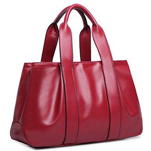G-AVERIL - Bolso mochila para mujer Rojo Red Red