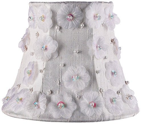 Jubilee Collection 2056 Petal Flower Chandelier Shade, White