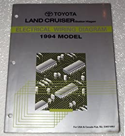 1994 toyota land cruiser electrical wiring diagram (fzj80 series Wiring Diagram for 2006 PT Cruiser Engine 1994 toyota land cruiser electrical wiring diagram (fzj80 series, station wagon) paperback \u2013 1993