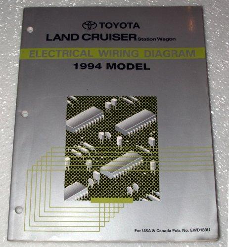 1994 toyota land cruiser electrical wiring diagram (fzj80 series 1994 Ford Explorer Sport Wiring Diagram