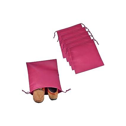Ya Jin - 20 bolsas para zapatos de viaje, no tejidas, con ...