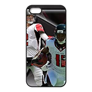 Atlanta Falcons iPhone 5 5s Cell Phone Case Black persent zhm004_8493378