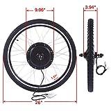 "JAXPETY 48V 1000W Electric Bicycle Cycle E Bike 26"" Rear Wheel Ebike Hub Motor Conversion Kit Hub Motor Wheel"