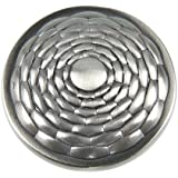 Atlas Homewares 236-BRN 1-1/4-Inch Mandalay Round Knob, Brushed Nickel