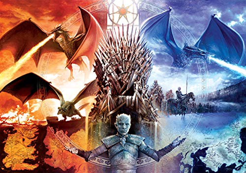 (Buffalo Games - Game of Thrones - Fire & Ice - 500Piece Jigsaw Puzzle)