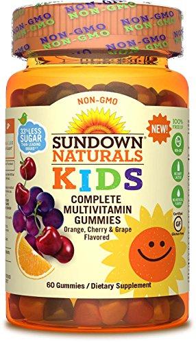 Sundown Naturals® Kids Non-GMO Complete Multivitamin, 60 ...