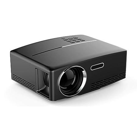 ZDZHU El Mini proyector Portable - Video proyector- LED Proyector ...