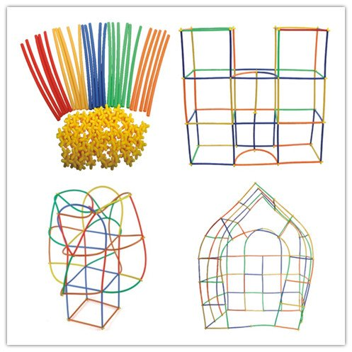 Constructor Interlocking pcs Colorful Educational Skills Construction product image