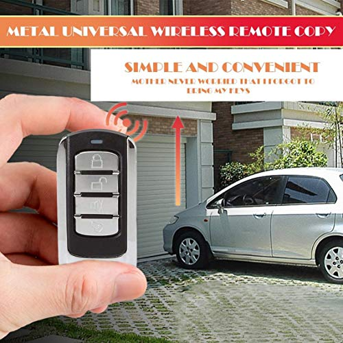 Price comparison product image 1 Piece Button Remote Control 868 MHz for Garage Door with Battery and Chain