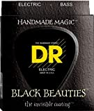 DR Strings Bass Strings, Black Beauties - Extra-Life, Black, Coated, Tapered, 0-110