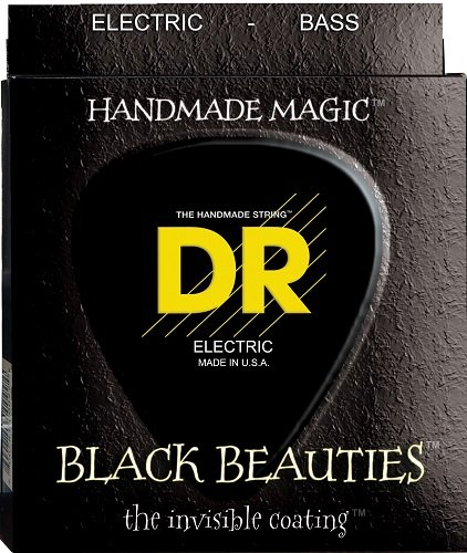 DR Handmade Strings BKB6-30 DR Strings BKB6-30 Black Beauty 6-String Bass Strings 30-125