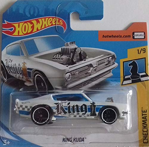 Hot Wheels 2018 Checkmate King Kuda (King) 362/365, White
