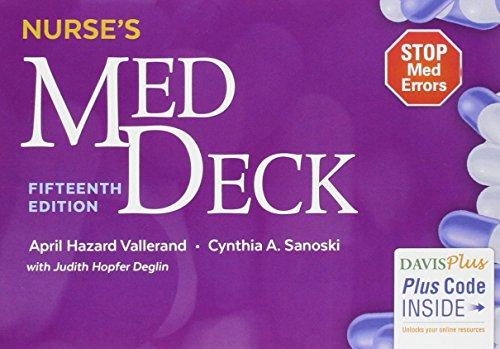 Nurse's Med Deck Box Version