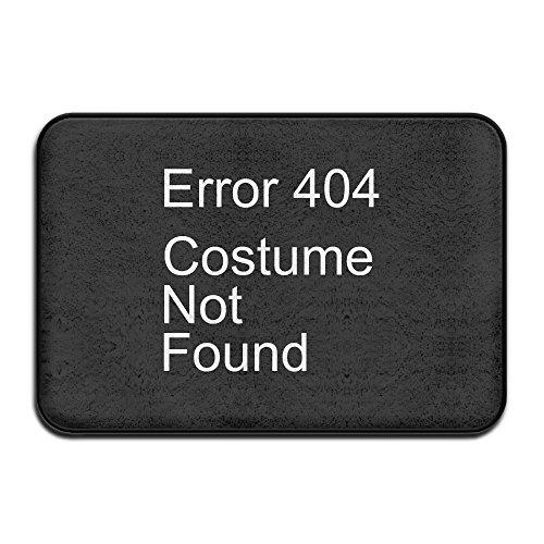 [Error 404 Costume Not Found Indoor/Outdoor Doormat 2416 Inch] (Costume Not Found 404)