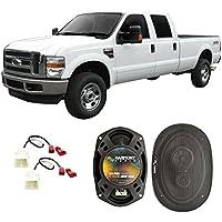 Fits Dodge Ram Truck 2500 2006-2009 Front Door Factory Replacement Harmony HA-R69 Speakers
