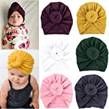 XiFe Baby Cool Boy Girls Nursery Beanie Hospital Hat Cotton Adjustable Knot Cap (YS6SDJ)