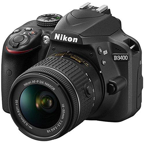 ... Nikon D3400 DSLR Camera AFP DX 1855mm 70300mm NIKKOR Zoom Lens Bundle  Kit ... 2a18b846c77