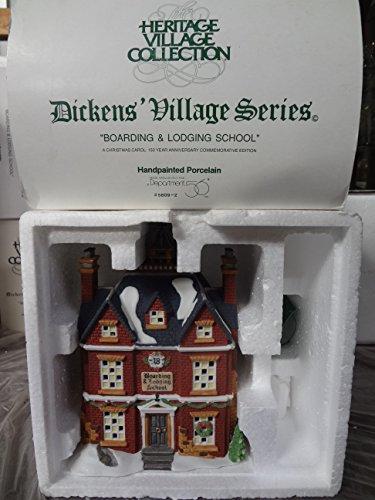 Department 56 House BOARDING & LODGING SCHOOL Porcelain Dickens Village Christmas 58106