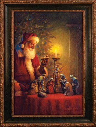 Spirit of Christmas - Santa Claus Puzzle - 500 pc Jigsaw - Candle Inspiration Soy Soy