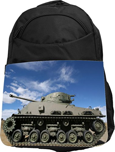 Rikki Knight UKBK Military Tank Tech BackPack - Padded fo...