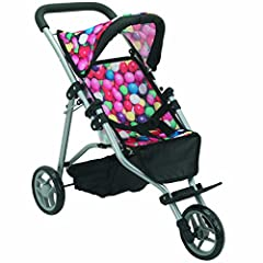 A perfect top quality doll jogger for your little princess to take her dolls for a walk.