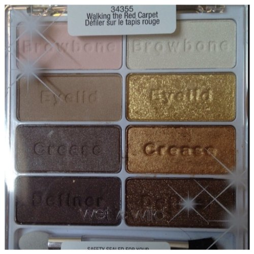 Wet N Wild Limited Edition Spring 2014 Walking the Red Carpet Palette