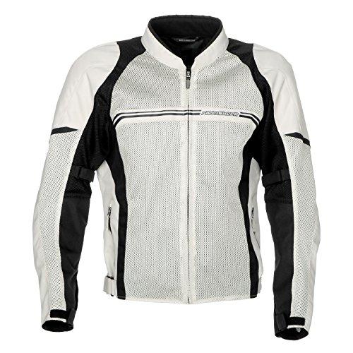 - Fieldsheer Men's Hi-Flow Mesh Jacket (Silver/Black, Large)