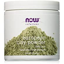 NOW European Clay Powder, 6-Ounce
