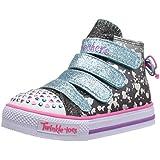Skechers Kids Twinkle Toes Shuffles Lil Skippers Light-Up Sneaker (Toddler/Little Kid)