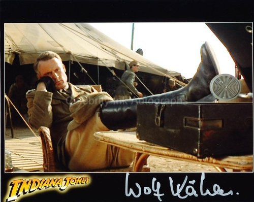 WOLF KAHLER as Colonel Dietrich - Indiana Jones: Raiders Of The Adrift Ark