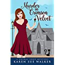 Murder in Crimson Velvet: A Bridal Shop Cozy Mystery (Bridal Shop Mysteries Book 2)