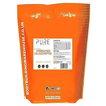 BODYBUILDING Warehouse Puro hidrolizado COLÁGENO (peptiplus) Polvo - 1kg