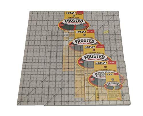 (Olfa Non-Slip Quilting Ruler - Multiple Sizes Avaliable (Complete - Set))
