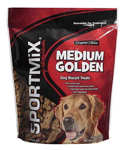 Medium Dog Biscuits (Midwestern SPORTMiX Golden Medium Premium Biscuit, 4 lb)