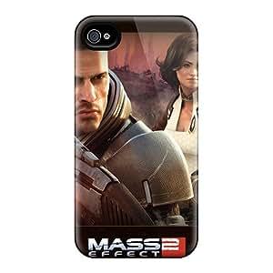 Unique Design Iphone 4/4s Durable Tpu Case Cover Mass Effect 2