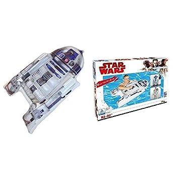 lively moments FLOTADOR / Colchoneta/tabla de surf / surfrider Star Wars con R2D2 aprox. 116 x 73 x 20cm: Amazon.es: Juguetes y juegos