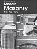 Modern Masonry, Clois E. Kicklighter, 1566379644