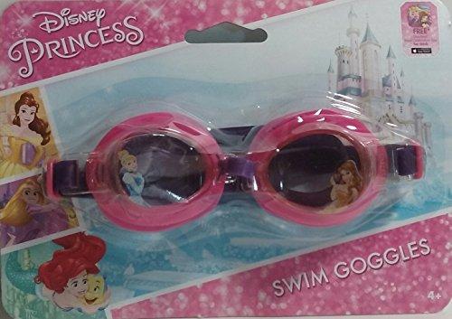 Disney Princess Swim Goggles with Cinderella and Belle